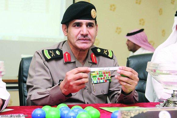 المرعول يترأس قرعة كرة القدم لأولمبياد القطاعات الأمنية على كأس سمو وزير الداخلية