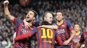 برشلونة يكرر فوزه على مانشستر سيتي ويتأهل لربع نهائي دوري الابطال