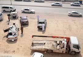 إزالة 612 مركبة تالفة من طرقات وأحياء الأحساء