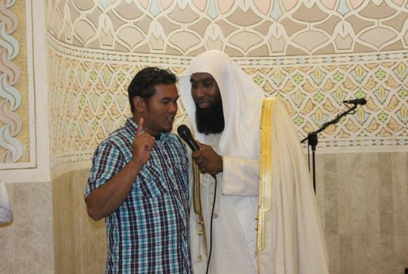 د.المشاري في درسه الشهري :الإعلام غرر بعقول شبابنا وعلقهم بالشهوة والعنف