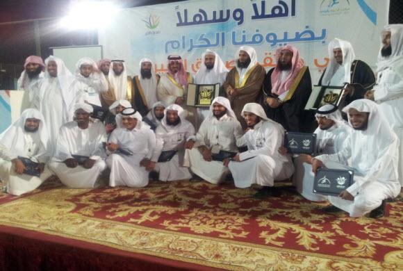 الأميرسعود بن خالد و طلال الدوسري ويوسف خميس يشهدون ختام دوري صديق الخير الرياضي