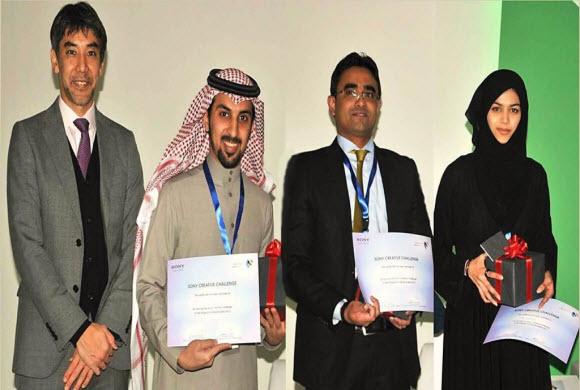 الإلكترونية الحديثة تعلن عن الفائزين بمسابقة تحدي سوني الإبداعي الثالثة 2013