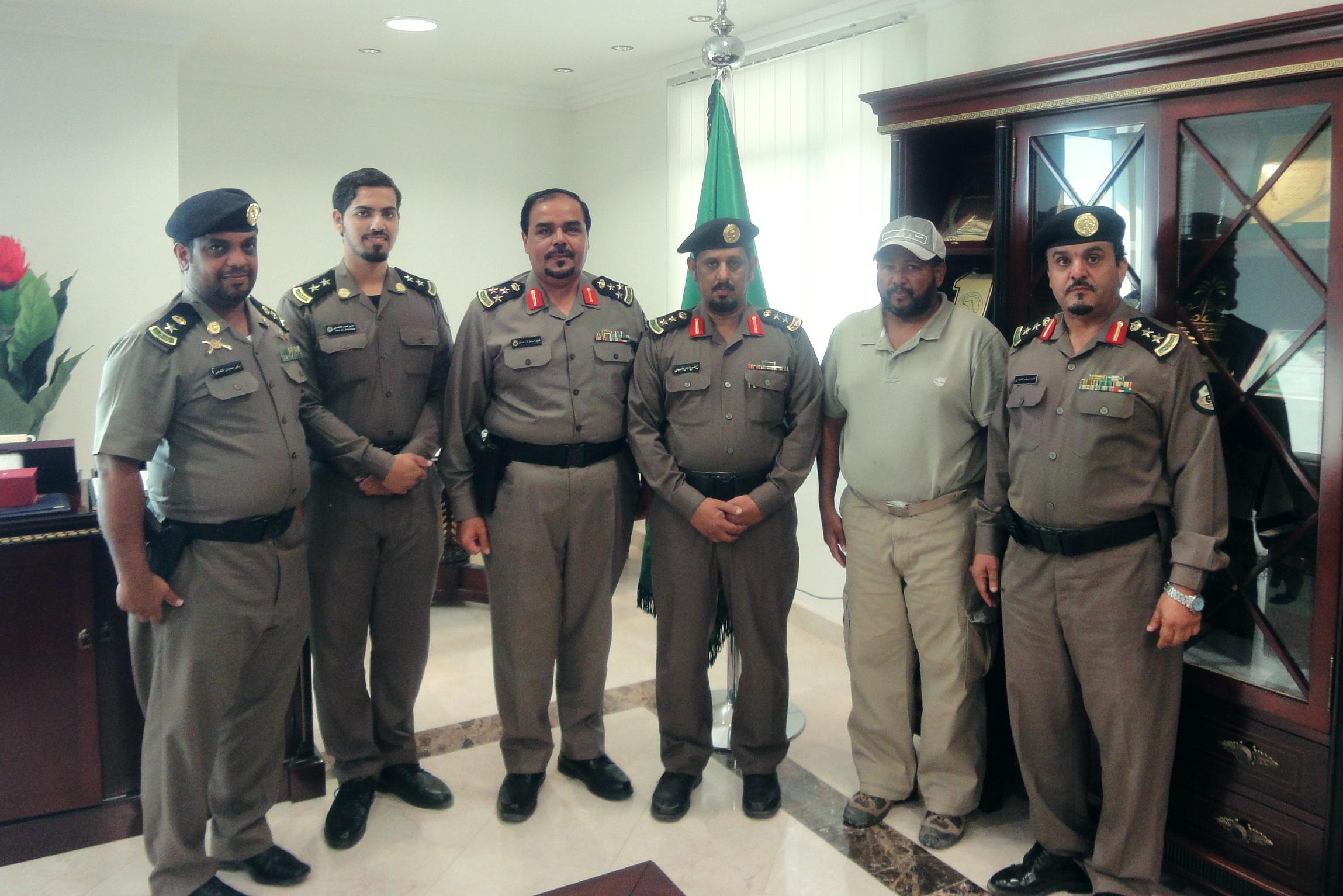 الجهات الأمنية تقوم بزيارة تفقدية لمسار رالي جدة الصحراوي