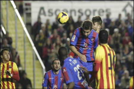 ليفانتي يفرض التعادل على برشلونة ويشعل الصراع على صدارة