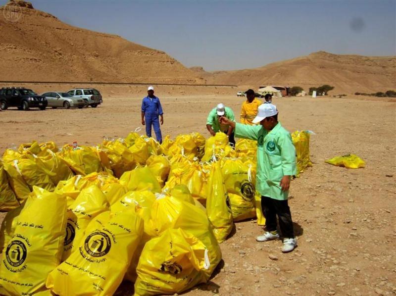 """أمانة الرياض تطلق حملة """"برّ بلا نفايات""""في الثمامة غدًا"""