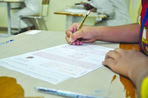 مدارس الهيئة الملكية في الجبيل الصناعية تصحح 3000 ورقة في ساعة واحدة