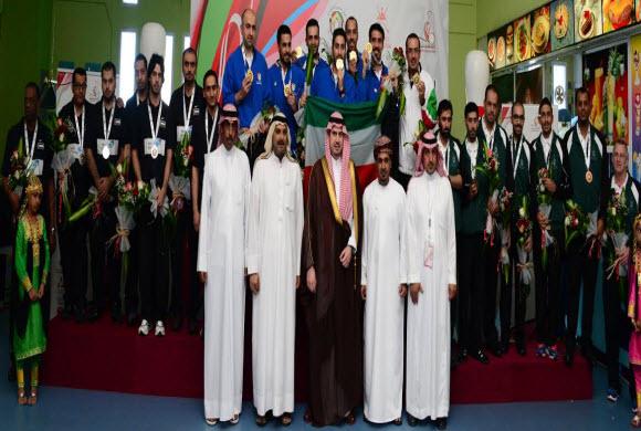 السعودية تحقق برونزية الخليج في البولينج