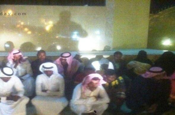 القبض على 25 متسللاً بالزي السعودي