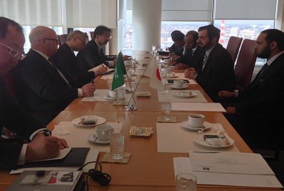 """""""النشمي"""" وزير التجارة والصناعة يجتمع برئيس نيسان والشركة تعرض خطتها لتعيين عدة وكلاء"""