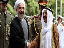 أمير الكويت يختتم زيارته لإيران