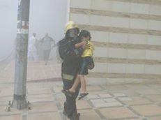 مدني مكة: حريق في محطة الكهرباء بعمارة سكنية واخلاء 50 شخص