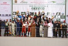 تركي بن عبدالله يتوج الفائزين في مهرجان السباقات السعودي الخامس