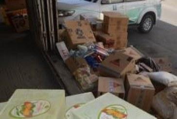 بالصور ..ضبط أكثر من 40 ألف سلعة غذائية فاسدة في الطائف