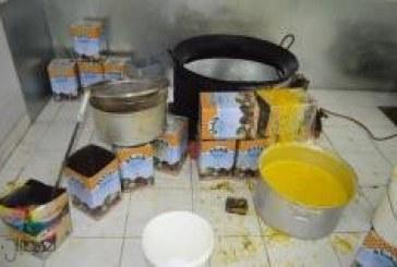 """""""التجارة"""" تغلق معملاً ملوث لتصنيع المكسرات في الرياض"""