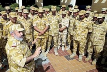 رئيس الأركان القطري يتفقد قوات بلاده بخميس مشيط