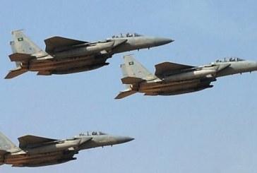 طائرات التحالف تستهدف الحوثيين بلحج