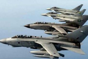 مقاتلات عاصفة الحزم تقصف معسكر الحرس الجمهوري بصنعاء