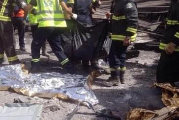 العثور على جثث مفقودي حريق مستودع تبوك