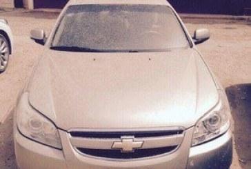 """الداخلية تعرض صورة السيارة المستخدمة في جريمة """"أبو نيان وبرجس"""""""