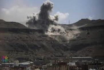 الاستخبارات كان لها الدور الأكبر في قصف أكبر مخزن أسلحة للحوثيين
