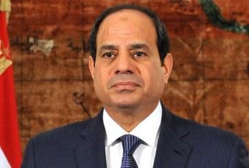الرئيس السيسي: لن نسمح لأحد بالسيطرة على المنطقة