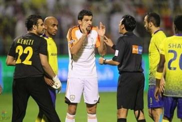 """""""المهنا""""يكشف حقيقة إبعاد الحكم العواجي عن إدارة مباريات النصر"""