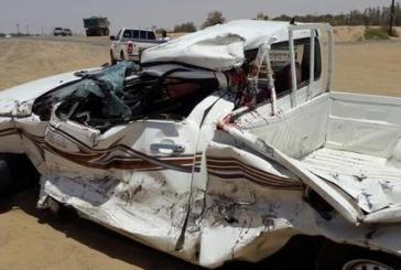 وفاة شخص وإصابة إثنين بحادث تصادم في بيشة