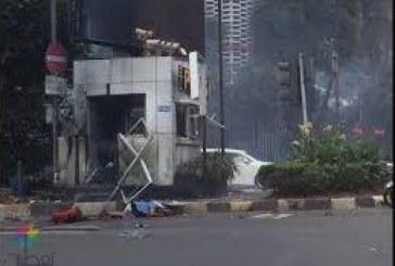 6 انفجارات تضرب العاصمة الإندونيسية.. وسقوط قتلى
