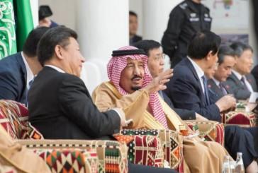 """خادم الحرمين والرئيس الصيني يدشنان مشروع شركة """"ينبع أرامكو ساينبوك للتكرير """"ياسرف"""""""