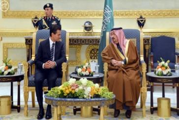 الرئيس المكسيكي يصل الرياض