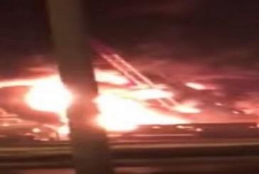 اندلاع حريق في شركة كيان بالجبيل الصناعية