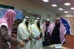 الشعلان يزوران معرض السيرة النبوية بصوير