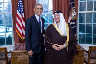 """""""أوباما""""يستقبل سفير المملكة لدى الولايات المتحدة الأمريكية"""