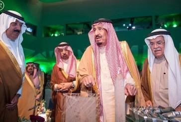 خادم الحرمين يفتتح مركز الملك عبد الله للدراسات والبحوث البترولية بالرياض