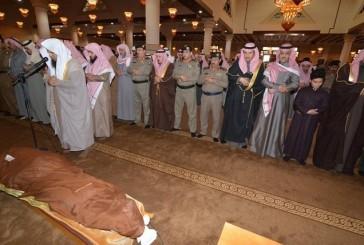 حائل تودع شهيد الواجب النقيب خالد العليقي