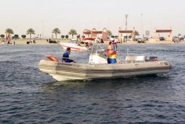 منع الإبحار بسبب  الأحوال الجوية للمحافظة على سلامة أصحاب القوارب