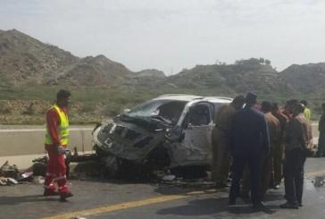 خمس وفيات وثلاث إصابات إثر حادث مروري بعسير