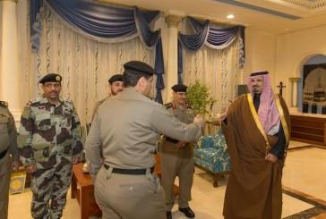 مدير الأمن العام يلتقى أمير منطقة الجوف ويتفقد إدارات الأمن العام بالمنطقة
