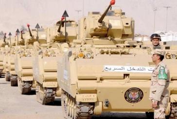 """بالصور: قوات مصرية بطريقها للسعودية ضمن مناورات """"رعد الشمال"""""""