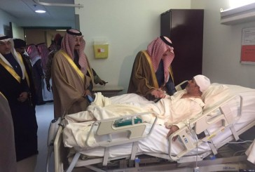 أمير المنطقة الشرقية يزور مصابي الحادث الأليم بالأحساء