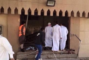 فيديو من داخل حسينية_محاسن يوثق بداية الانفجار