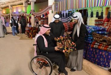 أكثر من 15 ألف زائر لمهرجان الصحراء بحائل