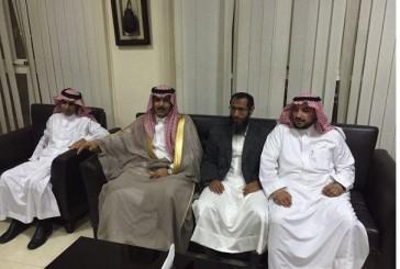 سفير المملكة في جيبوتي يستقبل المختطفين الغامدي والشراري