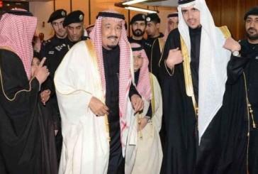 خادم الحرمين يشرف حفل زفاف الأمير فهد بن عبد الرحمن