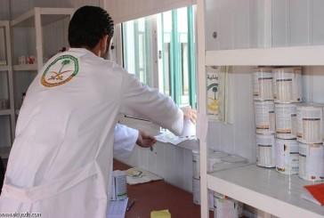 العيادات التخصصية السعودية تعالج حالة مرضية طارئة في الزعتري