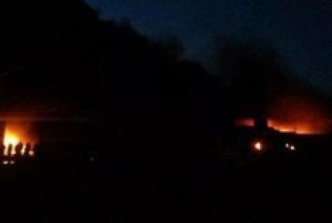 حريق ضخم فى أنابيب نفط جراء انفجار عبوة ناسفة زرعها مجهولون باليمن
