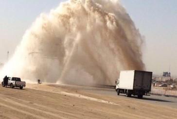 التحلية: انكسار بالخط الثاني في الرياض.. وإعادة الضخ خلال أيام