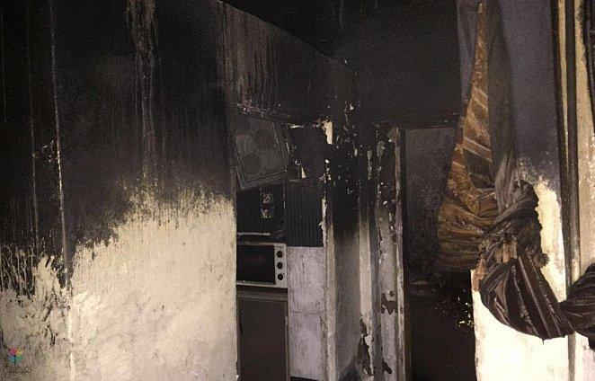 وفاة سيدة وطفلتان في حريق منزل شعبي بالمدينة