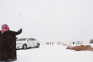 طقس شديد البرودة على وسط وشرق المملكة قارس على الحدود الشمالية