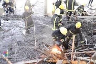 حالات احتجاز إثر انهيار محطة تحت الإنشاء في بيش